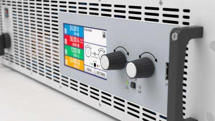 Электронная нагрузка с рекуперацией EA-ELR 9750-44 3U фотография №2