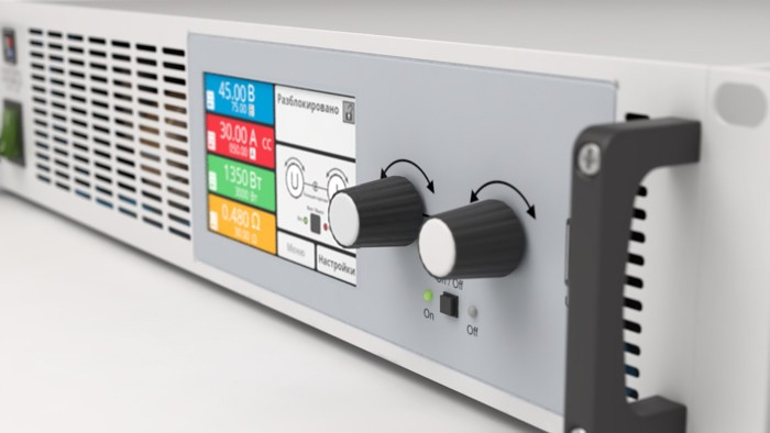 Программируемая электронная нагрузка EA-EL 9080-85 B HP 2U фотография №2