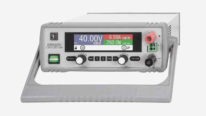 Новая серия источников питания EA-PS 3000 C